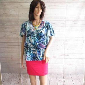 NWT - SIMPLY STYLED  pretty blouse - sz PXL